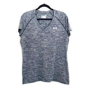 Under Armour | Semi Fitted Heat Gear Workout Top